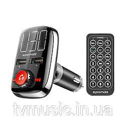FM-трансмиттер Promate Smartune-3 Black