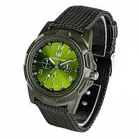 Мужские наручные часы швейцарского дизайна Gemius Army green (01019)