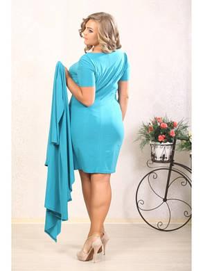 Женское платье-костюм большие размеры (р. 48-72) арт. Жасмин, фото 2