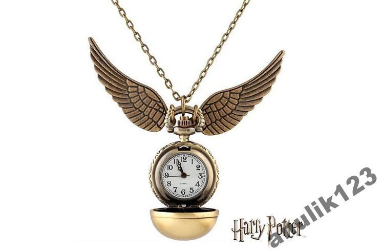 Карманные часы Гарри Поттер снитч (1418) Ты всегда узнаешь который час! Будь в игре!