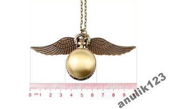 Карманные часы Гарри Поттер снитч (1418) Ты всегда узнаешь который час! Будь в игре!, фото 2