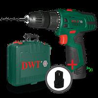 Аккумуляторный шуруповерт DWT ABS-18 SLi BMC