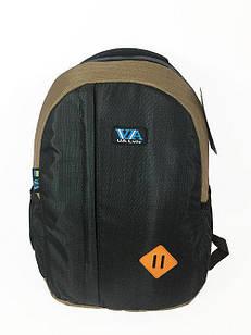 Рюкзак школьный VA R-69-127 Черно-коричневый (009203)