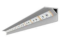 Профиль алюм. для LED ленты угловой 22х20