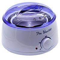 Воскоплав баночный для депиляции в домашних условиях Pro-wax 100 (34758)