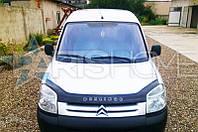Дефлектор Капота Мухобойка Peugeot Partner 2003-2008