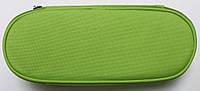 Пенал сумочка школьный для девочек (1 отдел ) для хранение ручек и карандашей,зеленый Kidis
