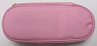 Пенал сумочка школьный для девочек (1 отдел ) для хранение ручек и карандашей,розовый Kidis