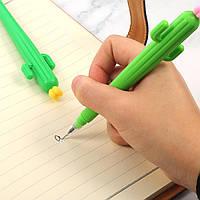 """Набор дизайнерских  гелевых ручек для письма """"Кактус"""" 6 шт"""
