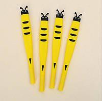 """Набор дизайнерских гелевых ручек для письма Small Point """"Пчела""""  Bee 4  шт"""