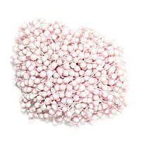 Тычинки сахарные СВЕТЛО-РОЗОВЫЕ, 75-85 нитей, 160 головок