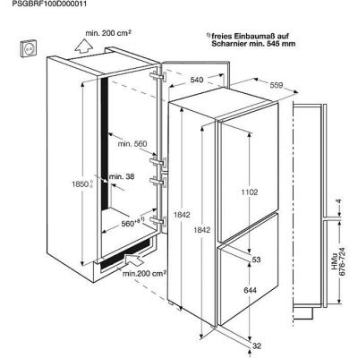 Холодильник ELECTROLUX ENN 3153 AOW (ENN3153AOW) 2
