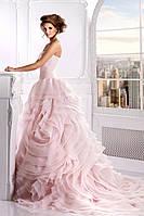 Свадебное платье «Шопот розы» пудра (продажа, напрокат)