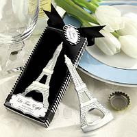 "Подарки гостям на свадьбе - открывалка ""Эйфелева башня"""