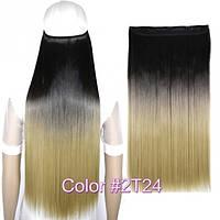 Накладные волосы на заколках термо Тресса № 2т24