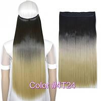 Накладные волосы на заколках термо Тресса № 4т24