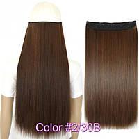 Накладные волосы на заколках термо Тресса № 2-30