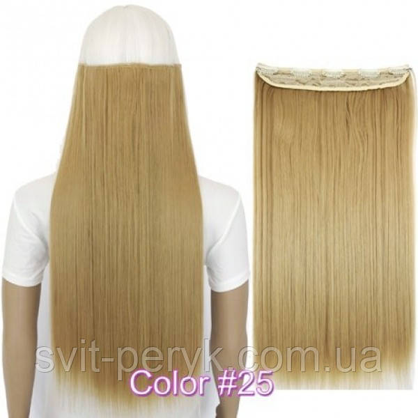 Накладные волосы на заколках термо Тресса № 25