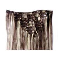 Накладные волосы на заколках термо  Набор тресс 7 шт № 6-613