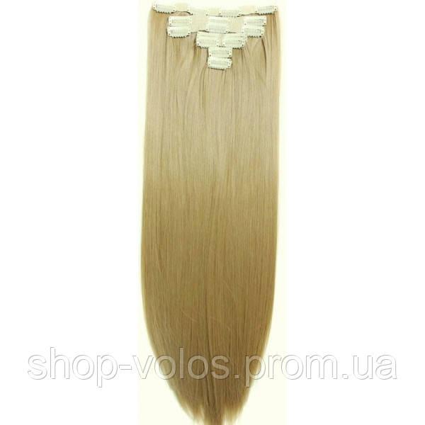 Накладные волосы на заколках термо  Набор тресс 7 шт № 24
