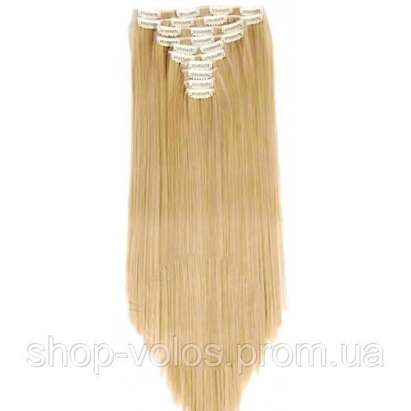 Накладные волосы на заколках термо  Набор тресс 7 шт № 27M613