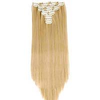 Накладные волосы на заколках термо  Набор тресс 7 шт № 27M613, фото 1
