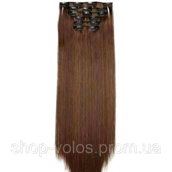Накладные волосы на заколках термо  Набор тресс 7 шт № 4-30