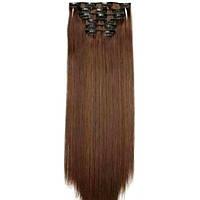 Накладные волосы на заколках термо  Набор тресс 7 шт № 4-30, фото 1