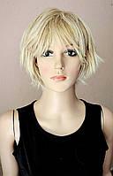Парик № 448 короткий, цвет: блонд мелированный
