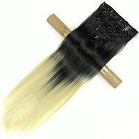 Накладные волосы на заколках термо Набор тресс 7 шт № 1т613