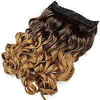 Накладные волосы на заколках термо Тресса № 6т27K