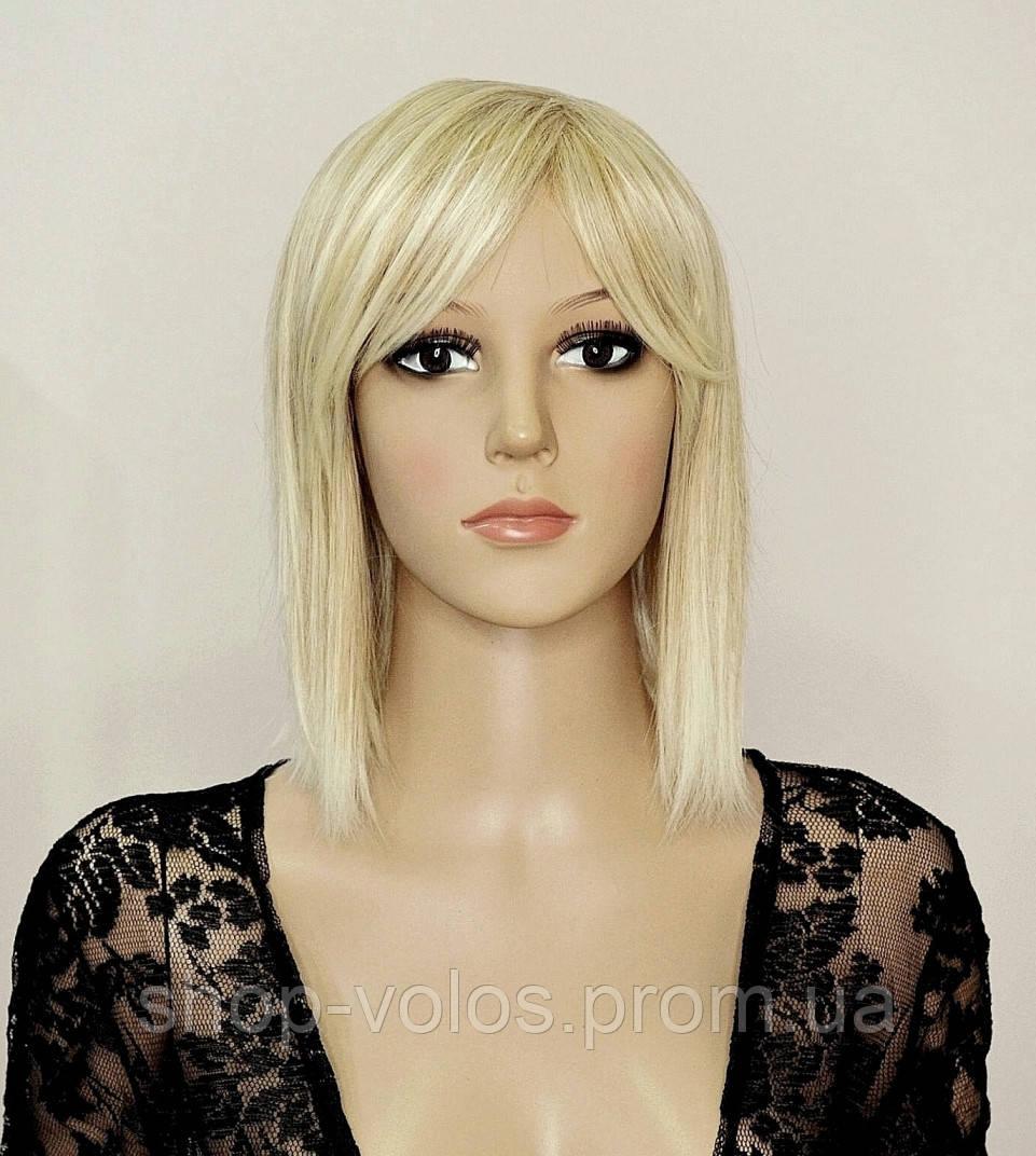 Парик № 515-24BT613 каре, цвет: мелированный блонд, длина 29 см