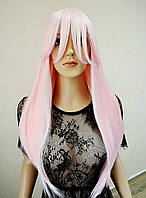 Парик светло-розовый длинный № R-6