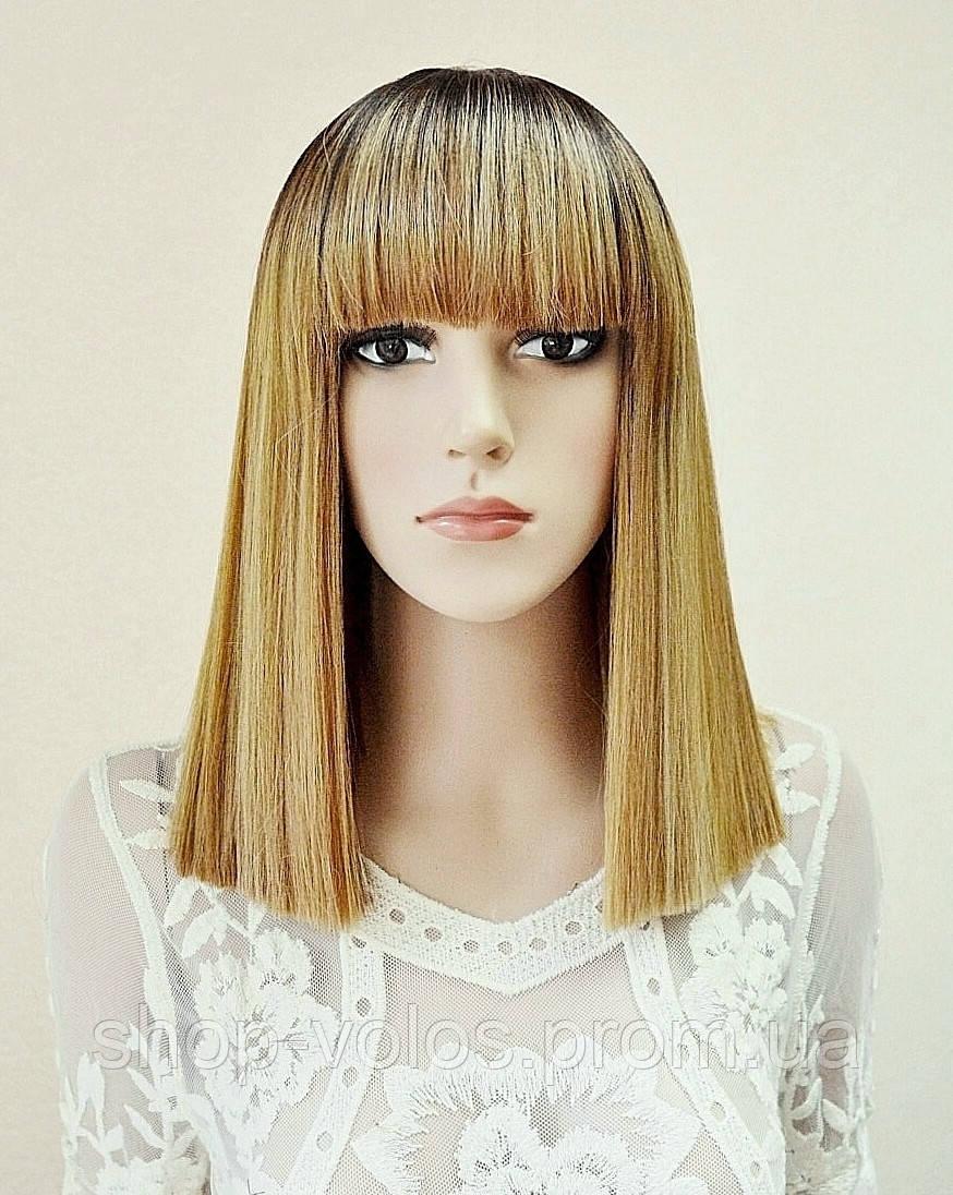 Перука AVRIL № 6-27 Каре омбре, колір: золотий блонд, довжина 36 см