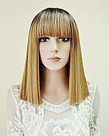 Перука AVRIL № 6-27 Каре омбре, колір: золотий блонд, довжина 36 см, фото 1