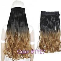 Накладные волосы на заколках термо Тресса № 1т27K