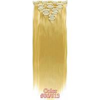 Накладные волосы на заколках термо  Набор тресс 7 шт № 86-613