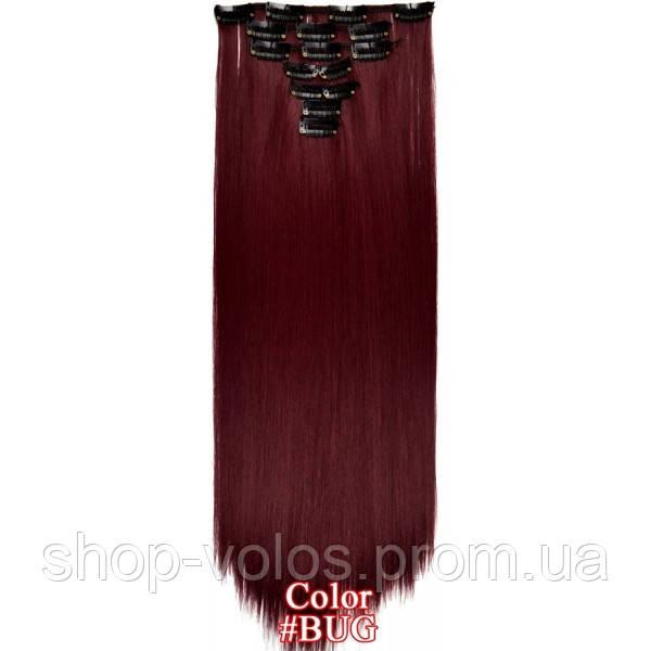 Набор тресс 7 шт № BUG темно-вишневый