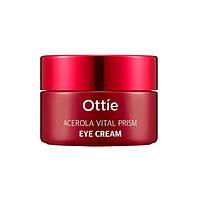 Витаминный крем для кожи вокруг глаз с ацеролой Ottie Acerola Vital Prism Eye Cream