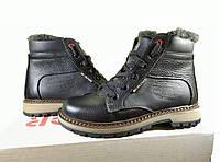 Подростковые ,детские зимние кожаные ботинки, фото 1