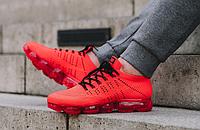 Красные кроссовки мужские Nike AIR VAPORMAX CLOT FLYKNIT