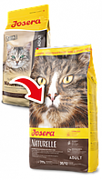 Йозера Натюрель Josera Naturelle сухой корм для стерилизованных кошек и кастрированных котов 2 кг