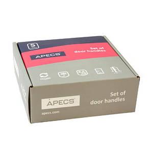 Ручки раздельные APECS H-0426-Z-NIS/NI-UA (Spindle 150) (цвет матовый никель/никель), фото 2