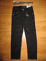 Котоновые брюки для девочки 116-146 см