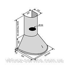 Вытяжка VENTOLUX CAPRI 50 INOX, фото 2