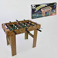 Футбол 628 В (4) деревянный, напольный, на штангах, в коробке