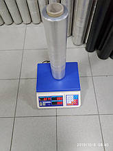 Стретч плівка для ручного пакування 20 мкм 2,0/2,2 кг прозора, вторинна