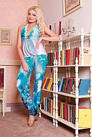 Летний женский комбинезон Медини 40-44 размер