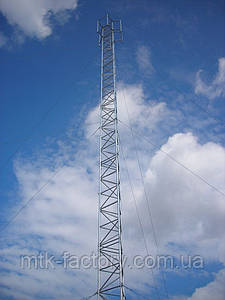 Алюмінієва мачта MШ440 - висота 8м