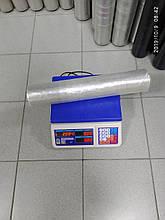 Стретч плівка для ручного пакування 20 мкм 1,8/2,0 кг прозора, вторинна